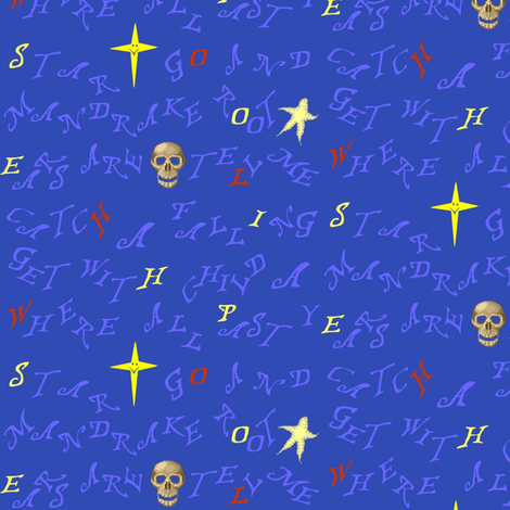 Howl's Curse fabric by veritybrown on Spoonflower - custom fabric