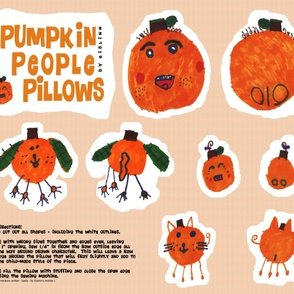 Pumpkin People Pillows