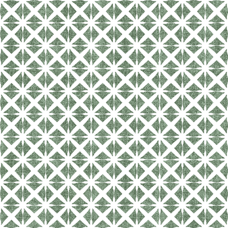Linen Look Stars - Mint fabric by kristopherk on Spoonflower - custom fabric