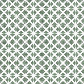 Linen Look Stars - Mint