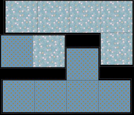 Giftbox Jellyfish_and_Swiss_Susies fabric by glimmericks on Spoonflower - custom fabric