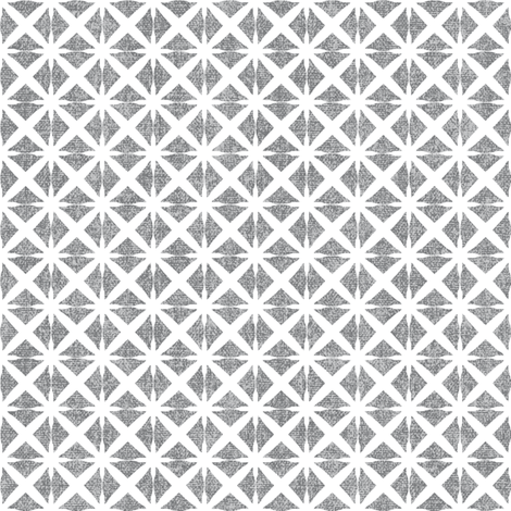 Linen Look Stars - Salt & Pepper fabric by kristopherk on Spoonflower - custom fabric