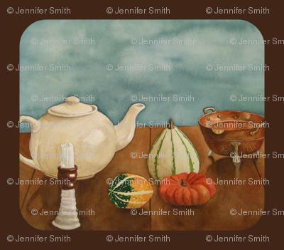 Autumn Table  espresso