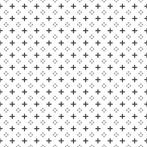 Ditsy print in black and white fabric by bargello_stripes on Spoonflower - custom fabric