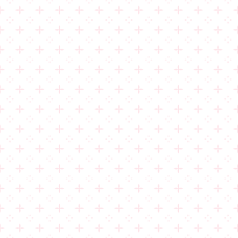Ditsy print in a rich baby pink on white fabric by bargello_stripes on Spoonflower - custom fabric