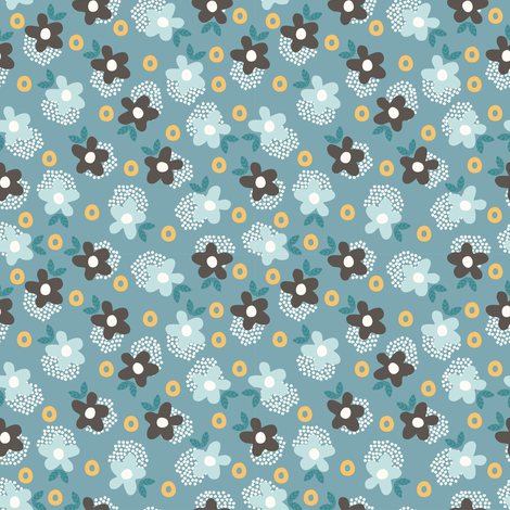 Itsy Bitsy Ditsy (8) fabric by mondaland on Spoonflower - custom fabric