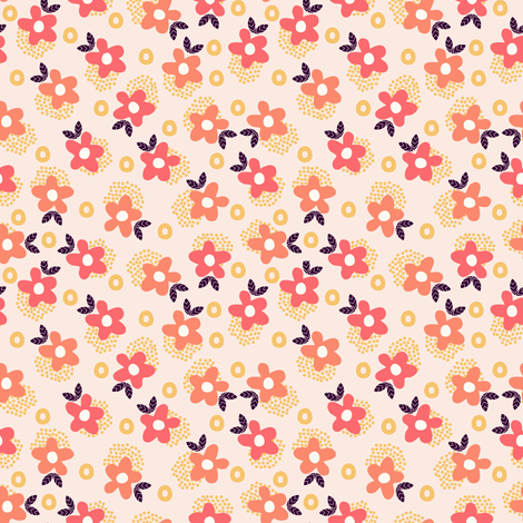 Itsy Bitsy Ditsy (5) fabric by mondaland on Spoonflower - custom fabric