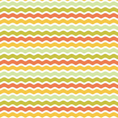 Ric rac pattern fabric by cjldesigns on Spoonflower - custom fabric