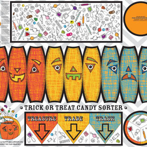 Trick Or Treat Candy Sorter Plushie