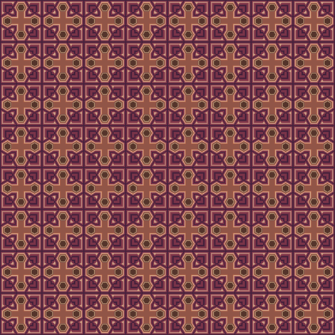Wine Geometric © Gingezel™ Inc. 2011 fabric by gingezel on Spoonflower - custom fabric