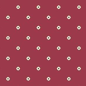 Dot Floral - Autumn Berry