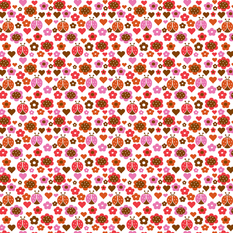 Happy Patch Garden - Sweet (Spoonflower Colors) fabric by p&e_designs on Spoonflower - custom fabric
