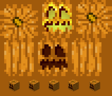Blocky Pumpkin