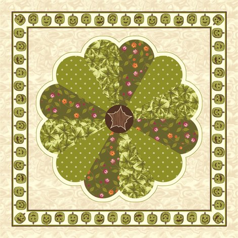 Rrrrrrrplush_pumpkin_dresden_plate_quilt_-_green_shop_preview