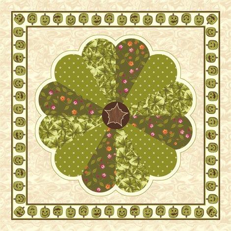 Rrrrrrrplush_pumpkin_dresden_plate_quilt_-_green_shop_preview