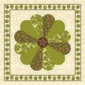 Rrrrrrrplush_pumpkin_dresden_plate_quilt_-_green_shop_thumb