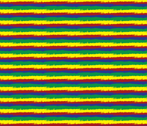 Doodle Stripe fabric by robyriker on Spoonflower - custom fabric