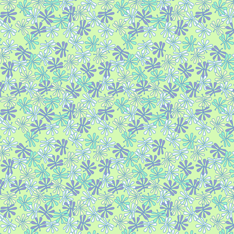 leafy_colors3 fabric by glimmericks on Spoonflower - custom fabric