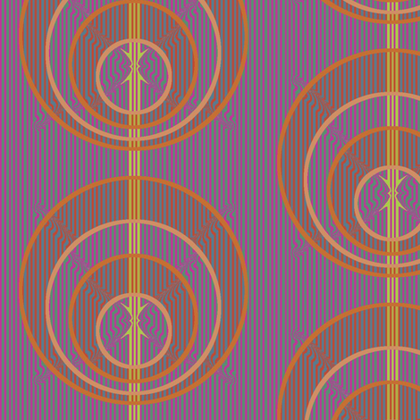 Andean Circles fabric by david_kent_collections on Spoonflower - custom fabric