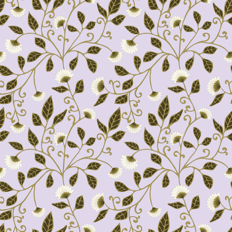 Vine Fabric fabric by kezia on Spoonflower - custom fabric
