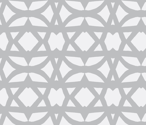 trellis-in light grays fabric by joybea on Spoonflower - custom fabric