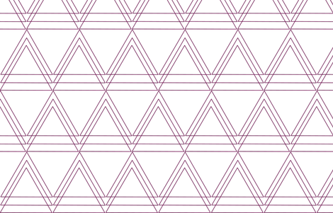 Love Triangles fabric by lana_kole on Spoonflower - custom fabric