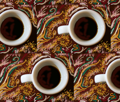 coffee fabric by creativeheads on Spoonflower - custom fabric