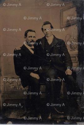 Gay Romance Tintype