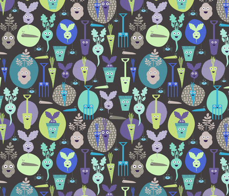 Rootin Tootin fabric by mondaland on Spoonflower - custom fabric