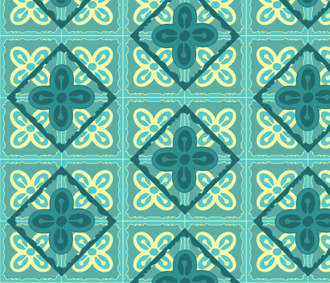 Adinkra squares Bese Saka fabric by nalo_hopkinson on Spoonflower - custom fabric