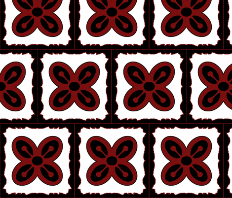Adinkra squares Bese Saka 2 fabric by nalo_hopkinson on Spoonflower - custom fabric