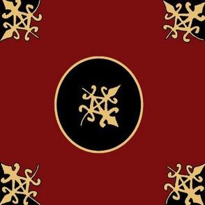 Funtunfunafu Adinkra pattern