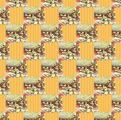 Buried city checks fabric by nalo_hopkinson on Spoonflower - custom fabric