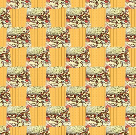 Buried city checks fabric by nalo_hopkinson on Spoonflower - custom fabric