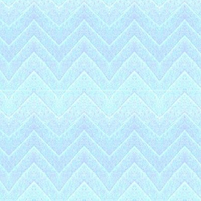 Leaf Chevron -- in icy blues