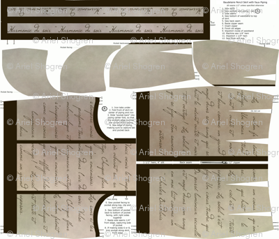 Baudelaire Pencil Skirt