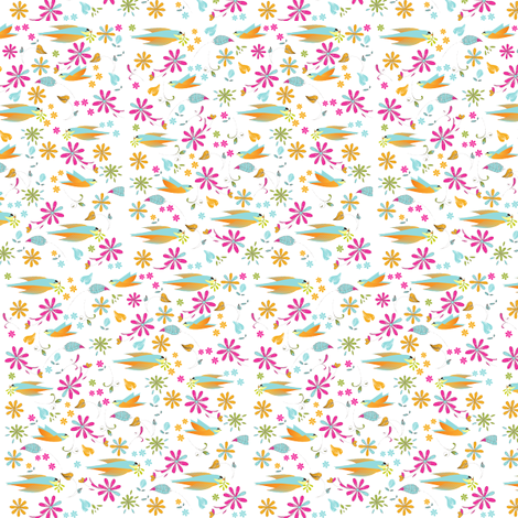 Fantastical Flight fabric by elvishthistle on Spoonflower - custom fabric