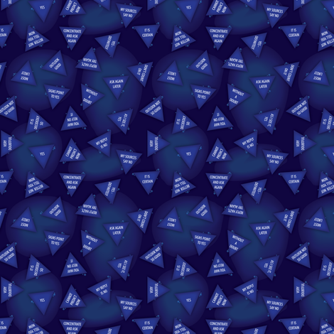 Magic 8 Ball fabric by kahoxworth on Spoonflower - custom fabric