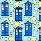 Tardis Blue
