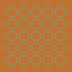 five back (teal circles)