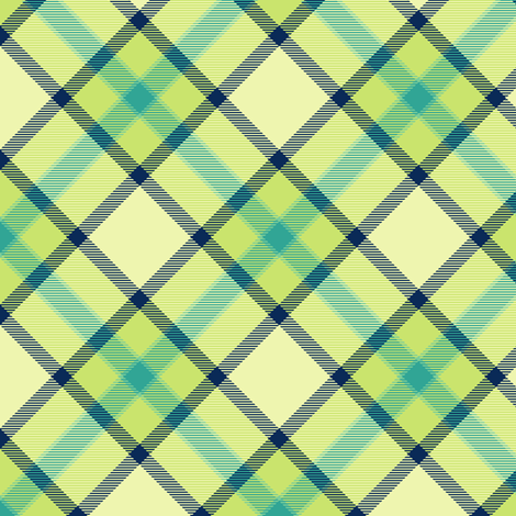 Tartan Misty - Night Falls Softly - © PinkSodaPop 4ComputerHeaven.com fabric by pinksodapop on Spoonflower - custom fabric