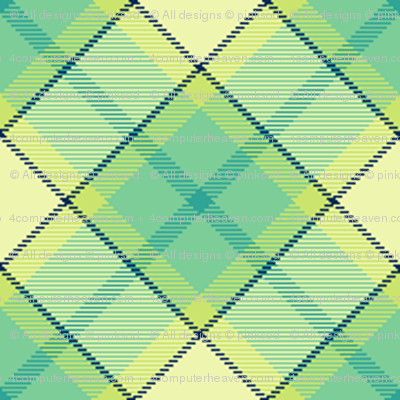 Tartan Hazy - Night Falls Softly - © PinkSodaPop 4ComputerHeaven.com