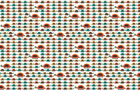 Tortuguitas fabric by gabriela_larios on Spoonflower - custom fabric