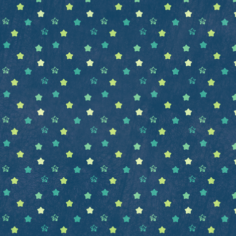 Star Ditsy Mini Vintage - Night Falls Softly - © PinkSodaPop 4ComputerHeaven.com fabric by pinksodapop on Spoonflower - custom fabric