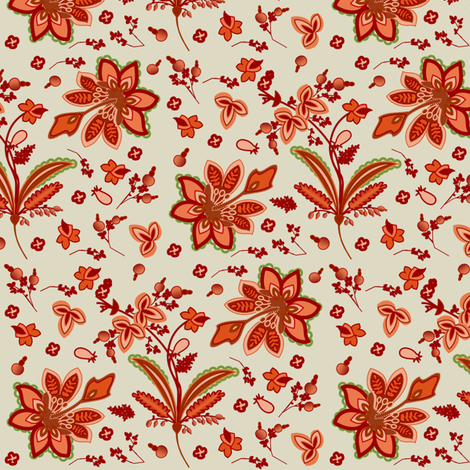 Floral Fun fabric by lowa84 on Spoonflower - custom fabric
