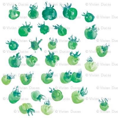"""C'EST LA VIVâ""""¢ green tomatoes"""