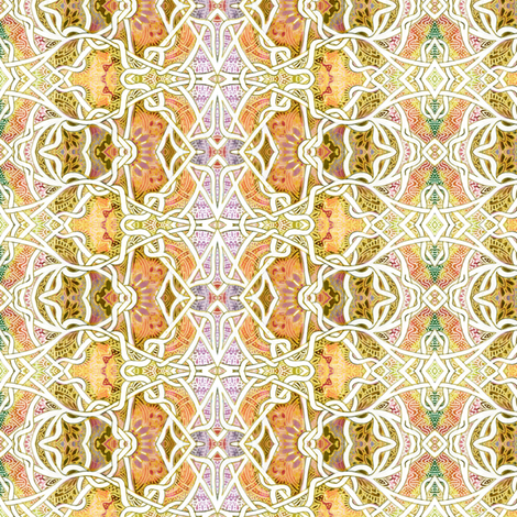 Tangle in the Sand fabric by edsel2084 on Spoonflower - custom fabric