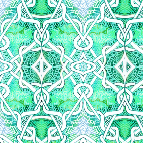 Locked in Embrace fabric by edsel2084 on Spoonflower - custom fabric
