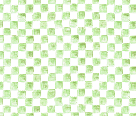 Avogadro's squares on plane white fabric by weavingmajor on Spoonflower - custom fabric