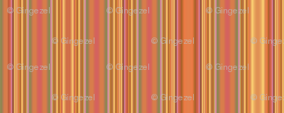 Summer Heat Stripes with gold © Gingezel™ Inc. 2011